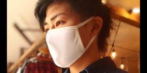 洗って何度も使える「吸水速乾布マスク」