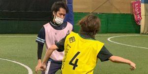 個人参加型フットサルコミュニティ「イチ5クラブ」でのマスク着用について